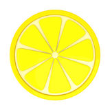 Lemon fruit slice, 3d Stock Photography