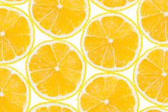 Lemon fruit slices. Abstract food background Royalty Free Stock Photography