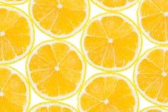 Lemon fruit slices Royalty Free Stock Photography