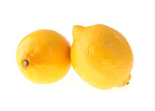 Lemon fruit sour Royalty Free Stock Image