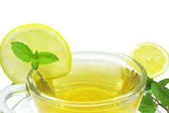 Lemon fruit tea Stock Photography