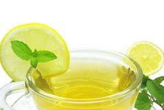 Lemon fruit tea Stock Photography