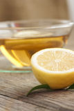 Lemon fruit tea Royalty Free Stock Photo