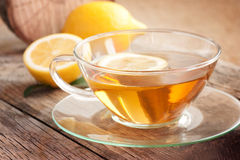 Lemon fruit tea Royalty Free Stock Photos