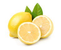 Lemon fruits Stock Photos