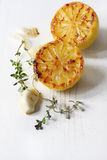 Lemon Garlic and Thyme Royalty Free Stock Photography