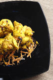 Lemon Garlic Tikka - a grilled chicken dish. Royalty Free Stock Photography