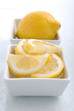 Lemon Garnish Stock Images