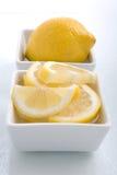 Lemon Garnish stock images