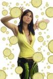 Lemon gassosa royalty free stock photography
