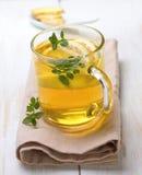 Lemon-ginger tea Royalty Free Stock Image