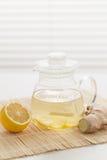 Lemon Ginger Tea Stock Images