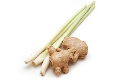 Lemon grass and ginger Royalty Free Stock Image