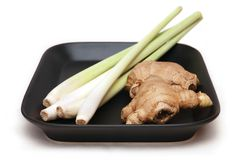 Lemon grass and ginger Stock Image