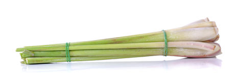 Lemon grass isolated on the white background Royalty Free Stock Photography