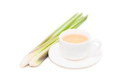 Lemon grass and tea Stock Image