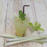 Lemon grass water. Made from lemon grass, lemon grass, herbs, Thailand royalty free stock image