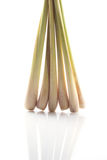 Lemon grass. On white background Stock Images