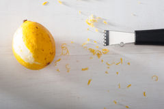 Lemon Grater Royalty Free Stock Photos