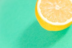 Lemon of green Royalty Free Stock Image