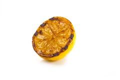 Lemon grill - grilled lemons Stock Images