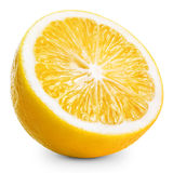 Lemon half Stock Image