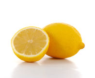 Lemon and half Stock Image