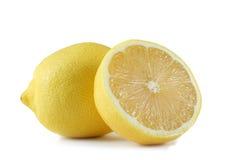 Lemon and half an lemon Stock Image