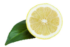 Lemon Half Royalty Free Stock Images