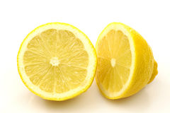 Lemon halves Royalty Free Stock Photos