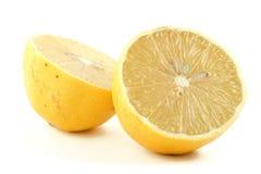 Lemon halves Royalty Free Stock Image
