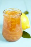 Lemon homemade jam Royalty Free Stock Photography