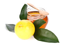 Lemon and honey Royalty Free Stock Photo