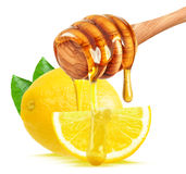 Lemon and honey Stock Photos