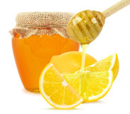 Lemon and honey Stock Photography