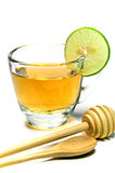 Lemon and Honey Tea. Stock Photo
