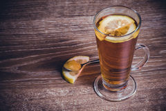 Lemon honey tea Royalty Free Stock Images