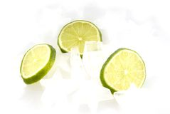 Lemon-ice Stock Image