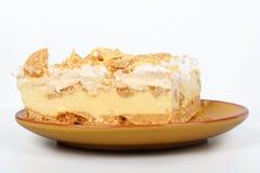 Lemon Ice Box Pie Stock Photo