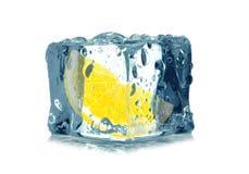 Lemon ice Stock Photo