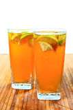 Lemon ice tea Stock Photography