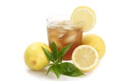 Lemon ice tea Royalty Free Stock Images