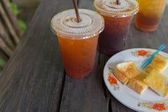 Lemon ice tea Stock Photo