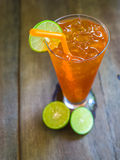 Lemon ice tea Stock Images