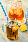 Lemon ice tea Royalty Free Stock Photography