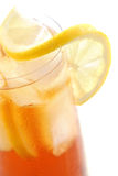 Lemon iced tea Royalty Free Stock Images