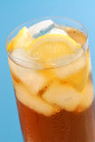 Lemon iced tea Royalty Free Stock Photography