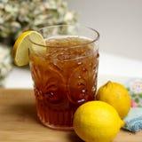 Lemon Iced Tea With Lemon Fruits Royalty Free Stock Photo