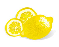 Lemon (illustration) Royalty Free Stock Image
