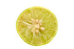 Lemon isolate on white background. The Lemon isolate on white background Royalty Free Stock Images